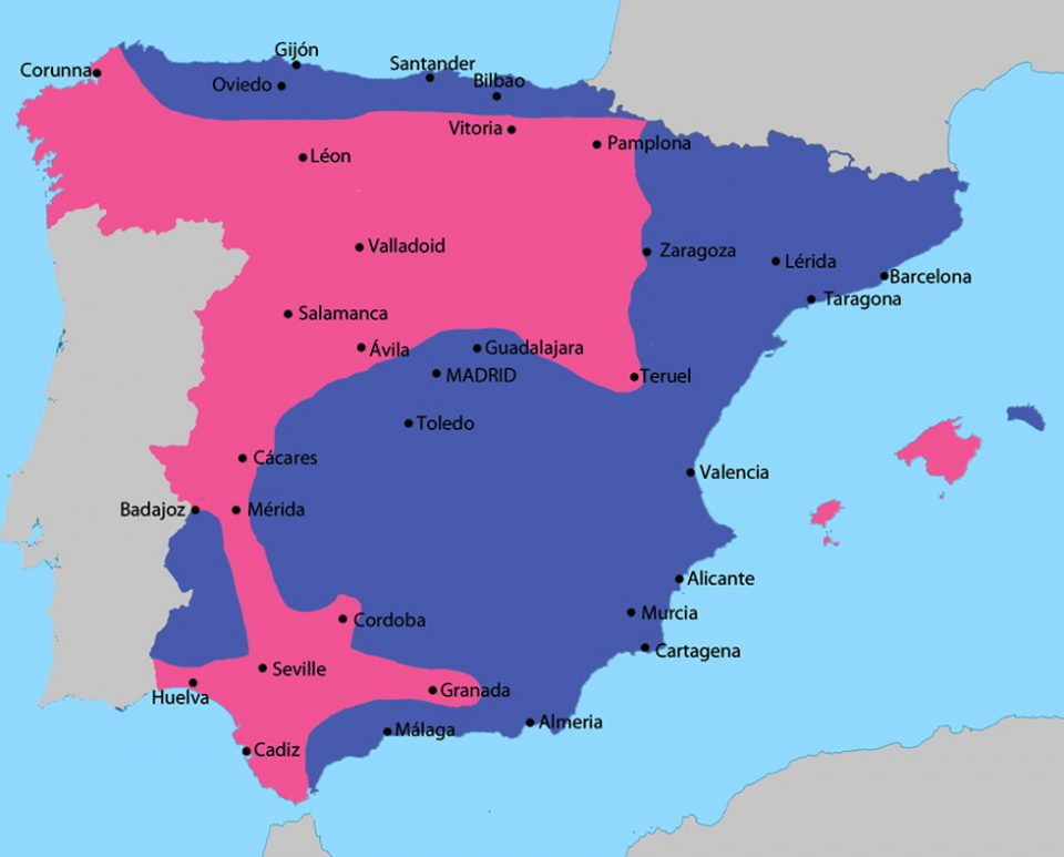 Cartina Geografica Spagna Costa Brava.Cartagena Spagna Mappa