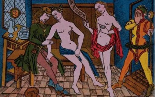 La prostituzione nel Medioevo