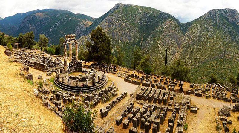 Santuario di Atena Pronaia a Delfi.