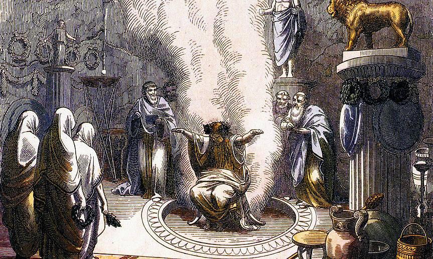 Pizia dell'Oracolo di Delfi