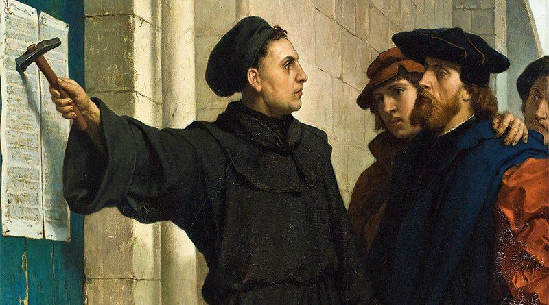 Lutero e le 95 tesi